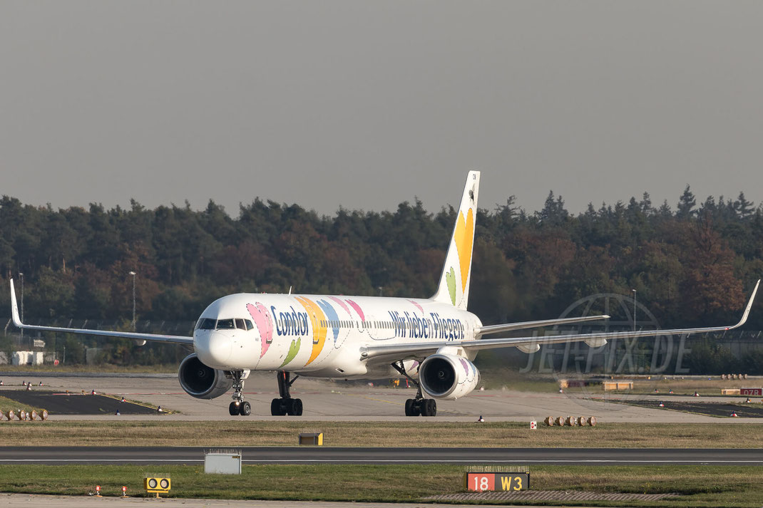 "D-ABON Condor Boeing 757-330(WL) ""Willi"" 2017 10 17 EDDF Frankfurt"