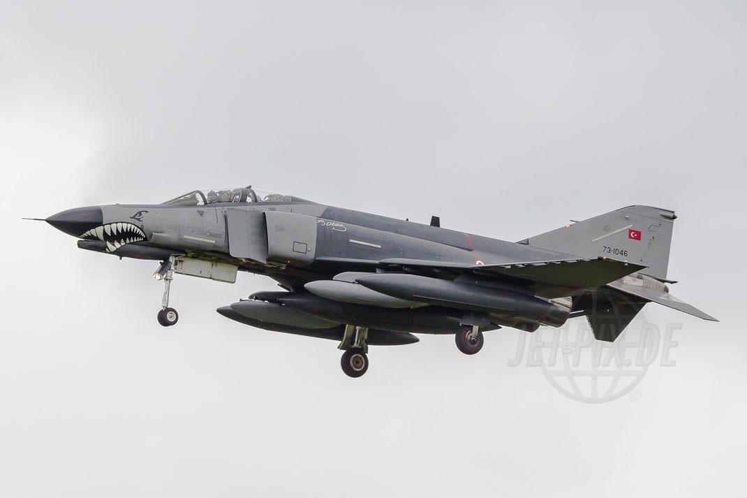 73-1046 Turkish Air Force Mcdonnell Douglas F4E Terminator-2020 2014 06 19 EHGR Gilze Rijen
