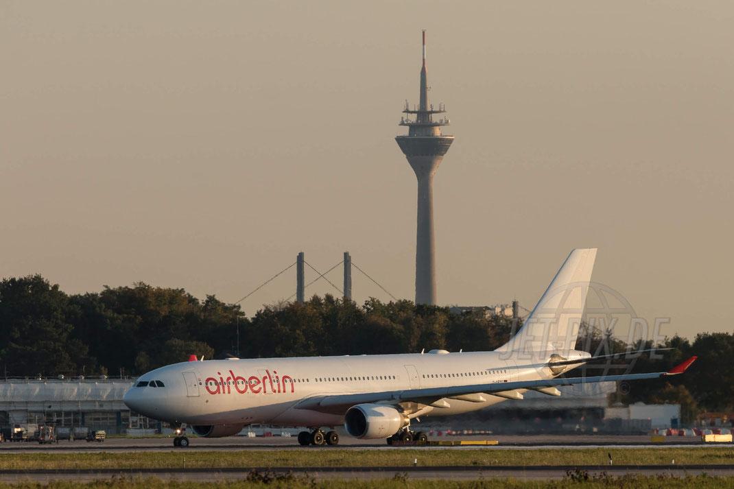 D-ABXG Air Berlin Airbus A330-223 2017 10 14 EDDL Düsseldorf
