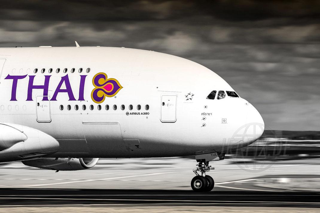 HS-TUE Thai Airbus A380 2018 03 05 EDDF Frankfurt