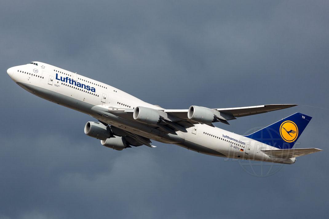 D-ABYH Lufthansa Boeing 748 2018 03 12 EDDF Frankfurt