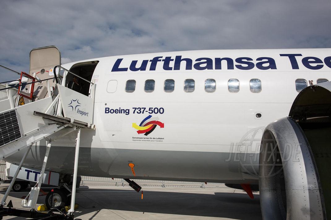 D-ABJI aka LHTLTT Lufthansa Technical Training Boeing 737-530 2017 06 25 Tag der Luftfahrt (TdL)