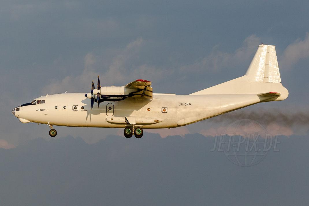 UR-CKM Cavok Airlines Antonov AN-12BP 2014 05 13 EHBK Maastricht