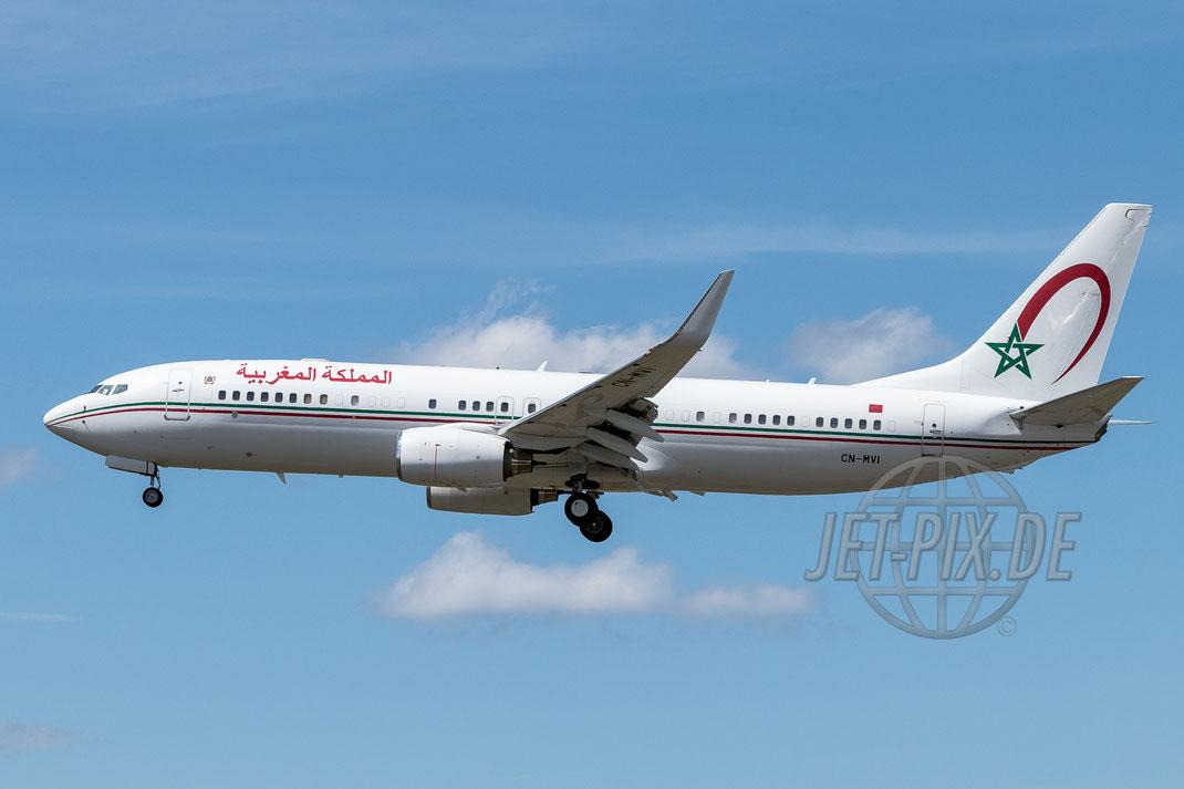 CN-MVI Morocco Government Boeing 737-800 2017 06 12 EDDF Frankfurt