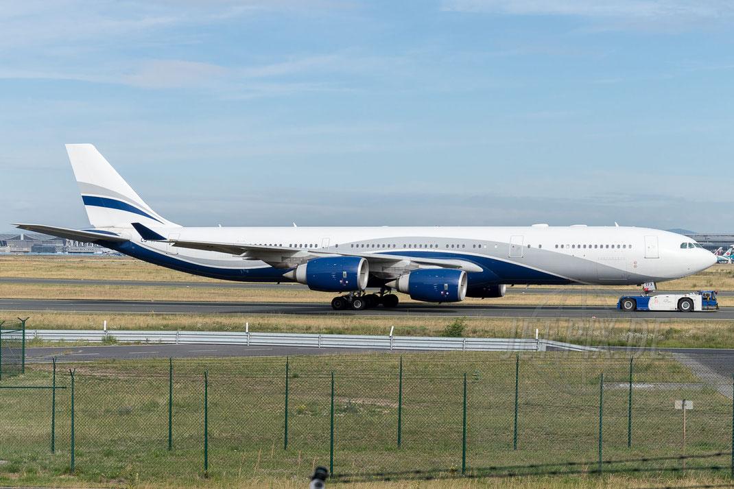 CS-TFX Hi Fly Airbus A340-542 2017 07 29 EDDF Frankfurt