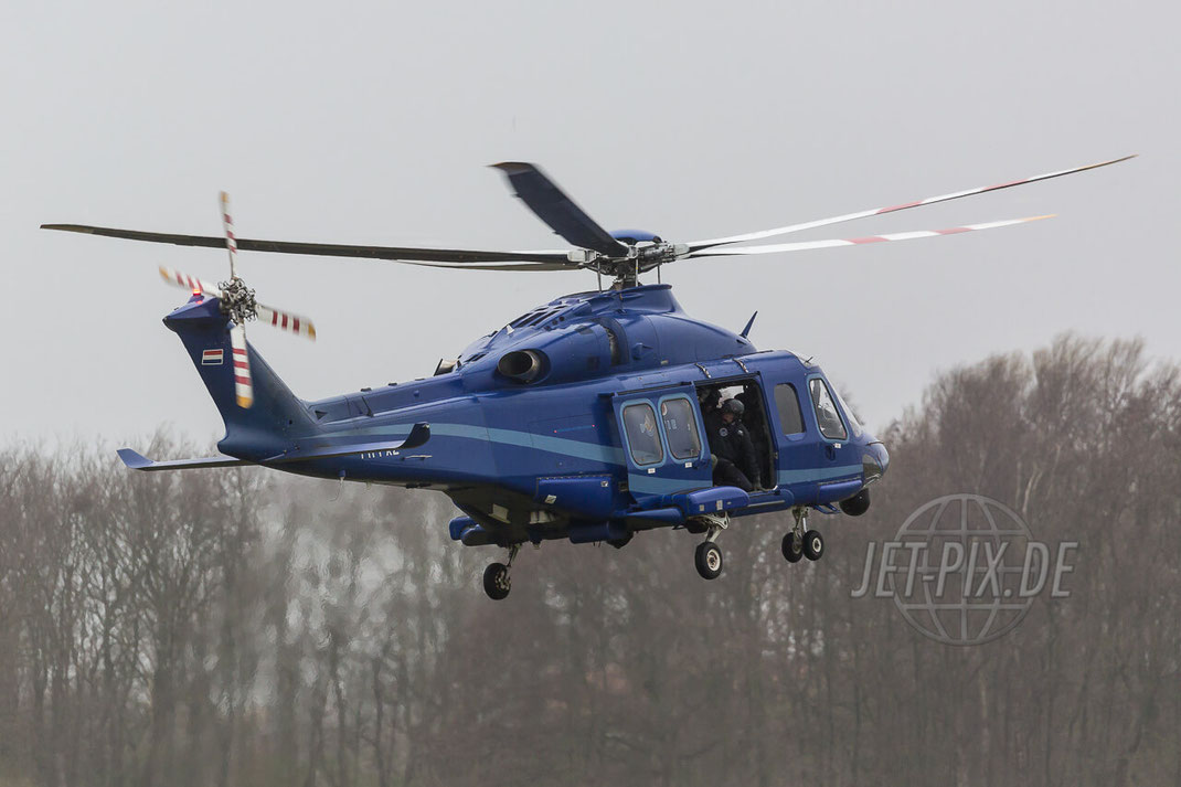 PH-PXZ Politie Nederland Dienst Luchtvaartpolitie Agusta Westland AW139 Den Helder (EHKD)