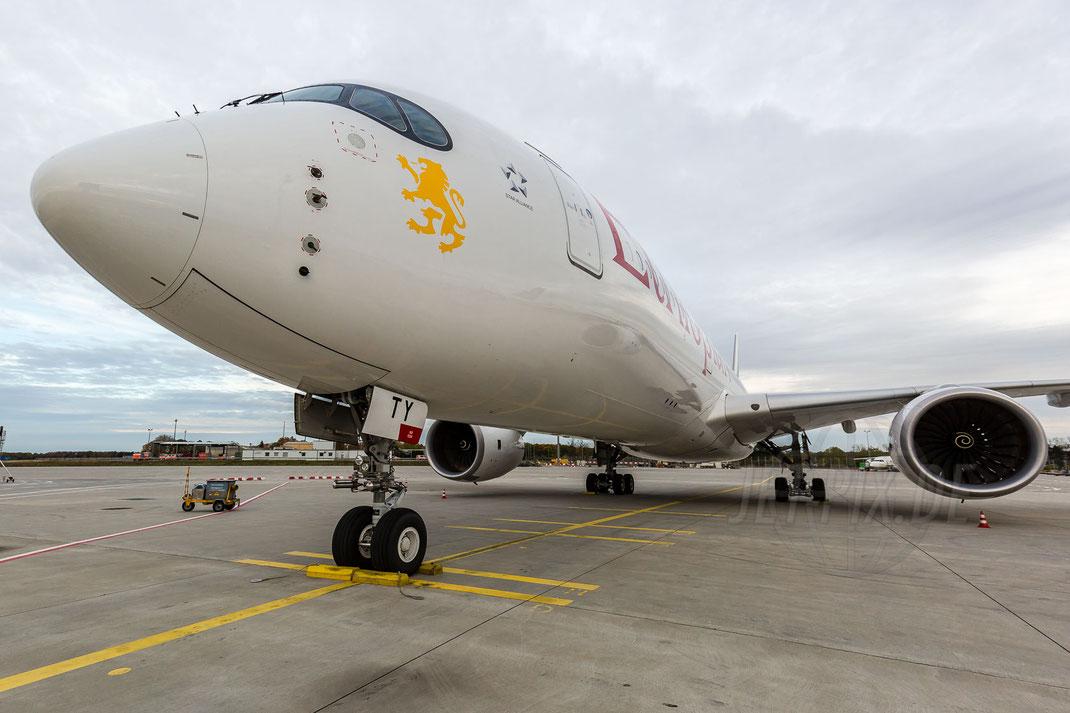 ET-ATY Ethiopian Airlines Airbus A350-941 2017 10 28 EDDF Frankfurt Tour 747UA End