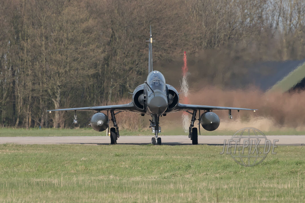 3-XK Mirage 2000D Armée de l'Air Leeuwarden Frisian Flag 2017 Leeuwarden (EHLW) Taxing Teilnehmer Frisian Flag Friesland Afterburner Flugzeugspotter