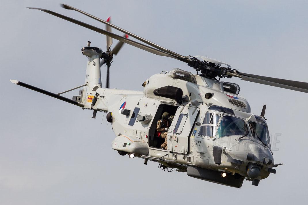 N-277 Marine Luchtvaartdienst (Royal Netherlands Navy) 860Sq NH90NFH 2014 06 21 EHGR Gilze Rijen