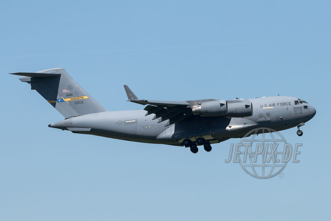 50102 US Air Force AMC Boeing C-17 2017 05 26 ETAR Ramstein