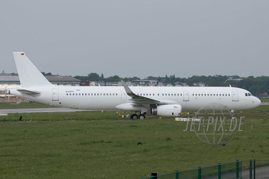 D-AVYT Airbus A321  2017 05 18 EDHI Finkenwerder