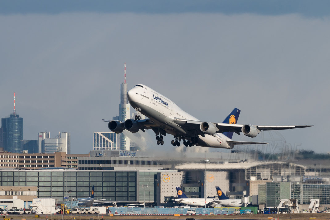 D-ABYD Lufthansa Boeing 747-8 2018 01 16 EDDF Frankfurt