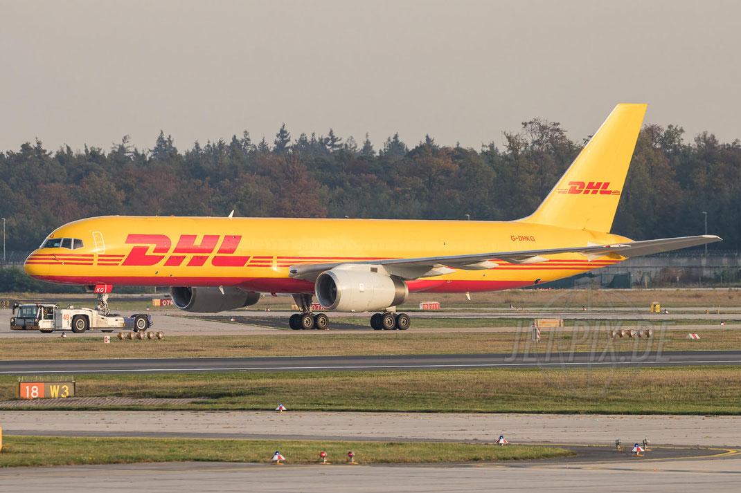 G-DHKG DHL Air Boeing 757-236(PCF) 2017 10 17 EDDF Frankfurt