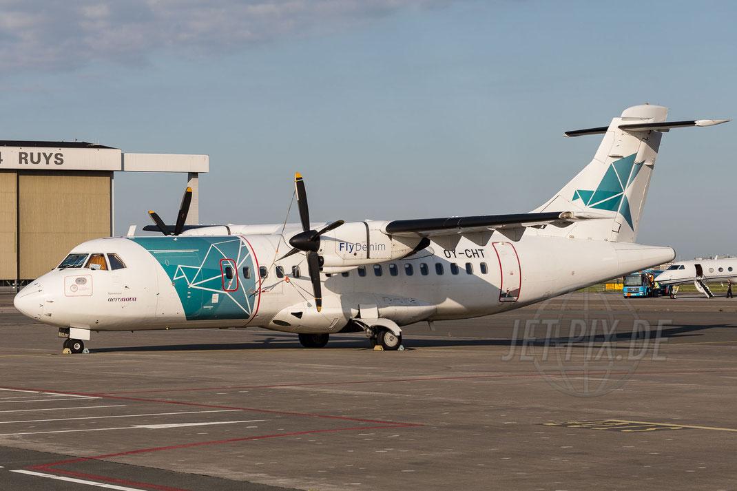 OY-CHT Denim Air Atr-42-300 2015 08 08 EHAM Amsterdam