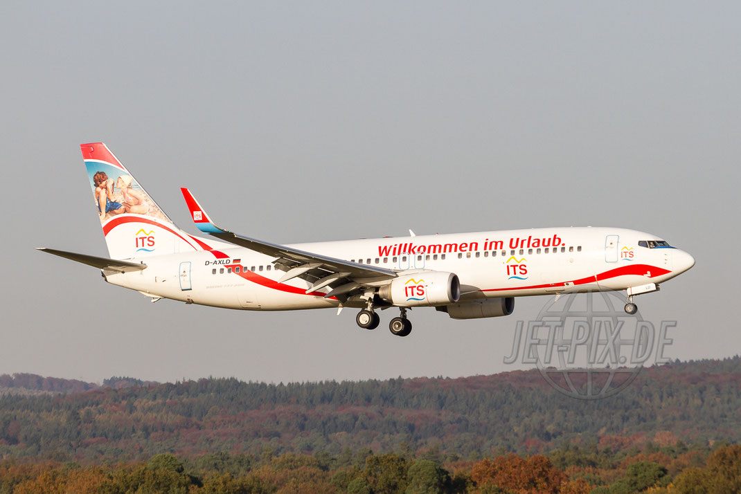 "D-AXLD XL Airways ""ITS"" Boeing 737  2012 10 22 EDDK Köln"
