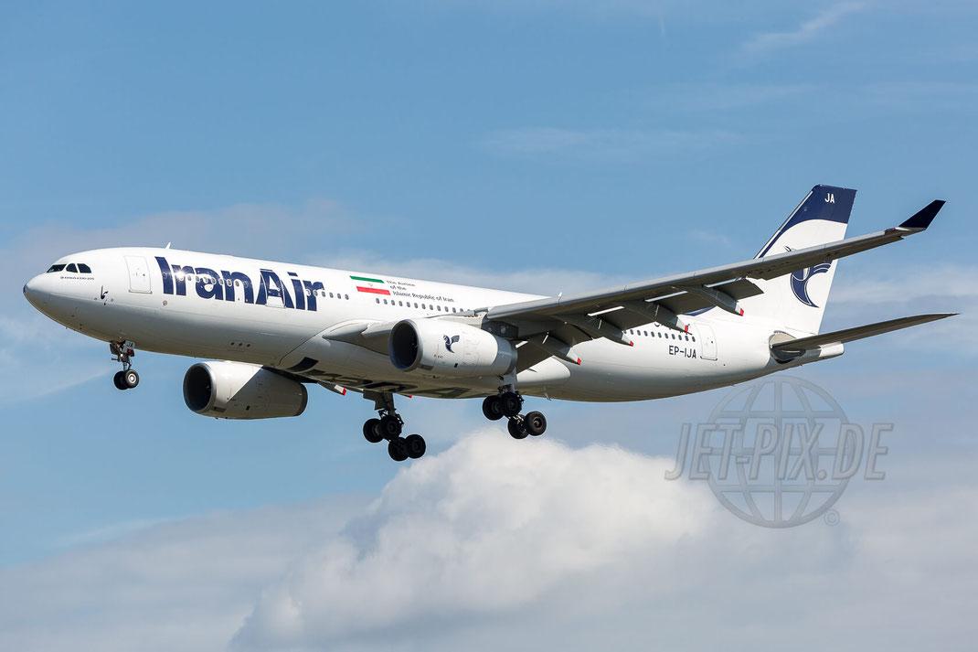 EP-IJA Iran Air Airbus A330-243 2017 07 29 EDDF Frankfurt