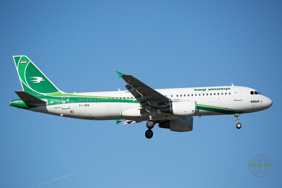 Landung in Frankfurt direkt aus Bagdad