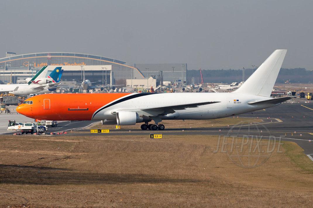 EC-LKV Gestair Boeing 767-383(ER)(BDSF) 2012 03 20 EDDF Frankfurt