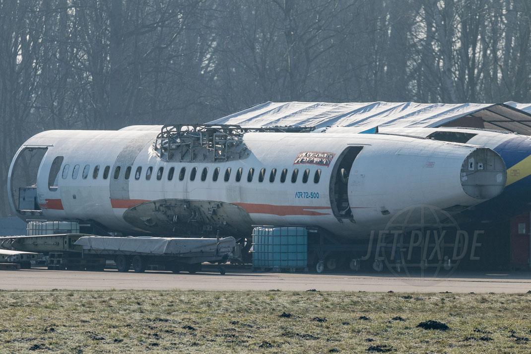 ATR 72-500 Wrack 2018 02 18 EDLN Mönchengladbach