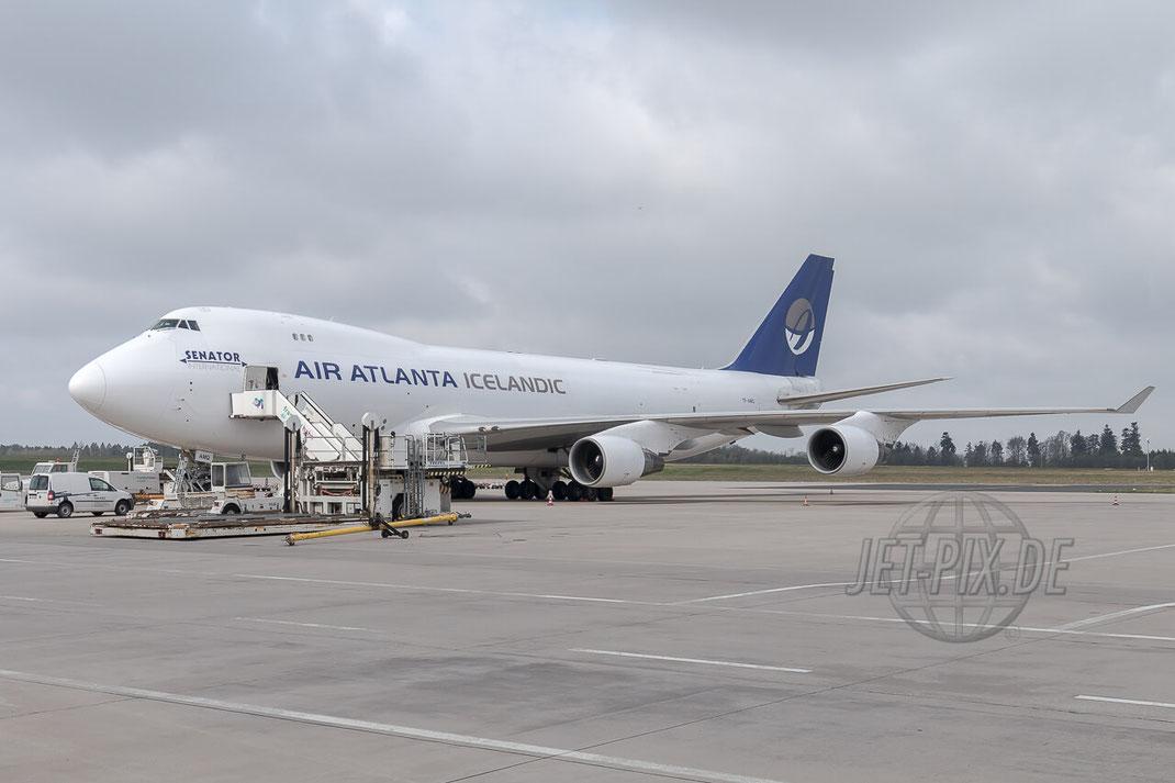 TF-AMQ Air Atlanta Icelandic Boeing 747-400F Frankfurt Hahn (EDFH)