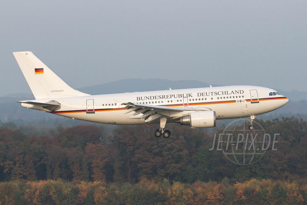 10+21 Luftwaffe Airbus A310 2012 10 23 EDDK Köln