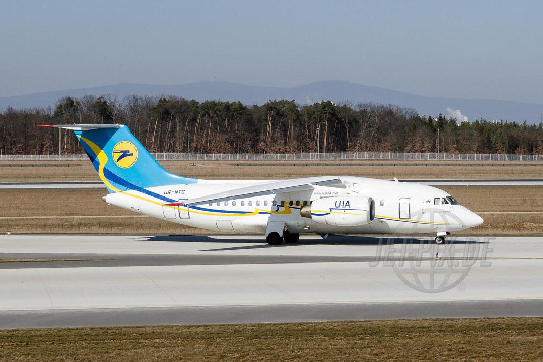 UR-NTC Ukraine International Airlines Antonov An-148-100B 2013 03 04 EDDF Frankfurt