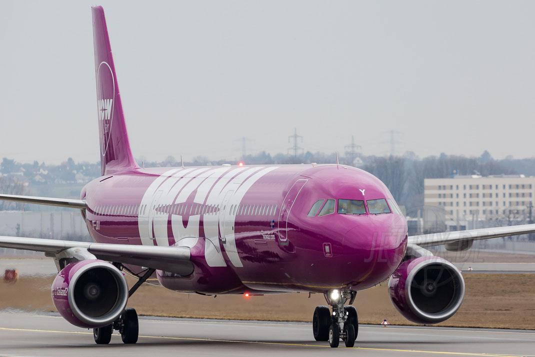 TF-JOY WOW Air Airbus A321 2018 03 11 EDDF Frankfurt