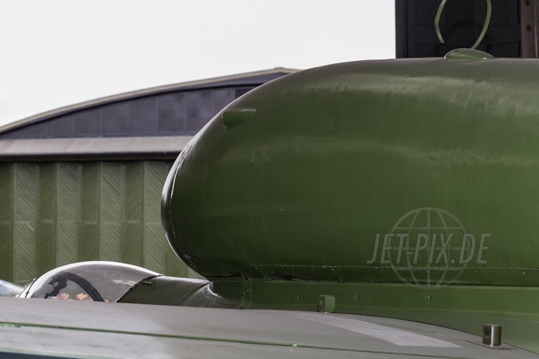"""""""Gelbe-6"""" Deutsche Luftwaffe He- 162 A-2  W/Nr 120235 2017 07 08 EGSU Duxford"""