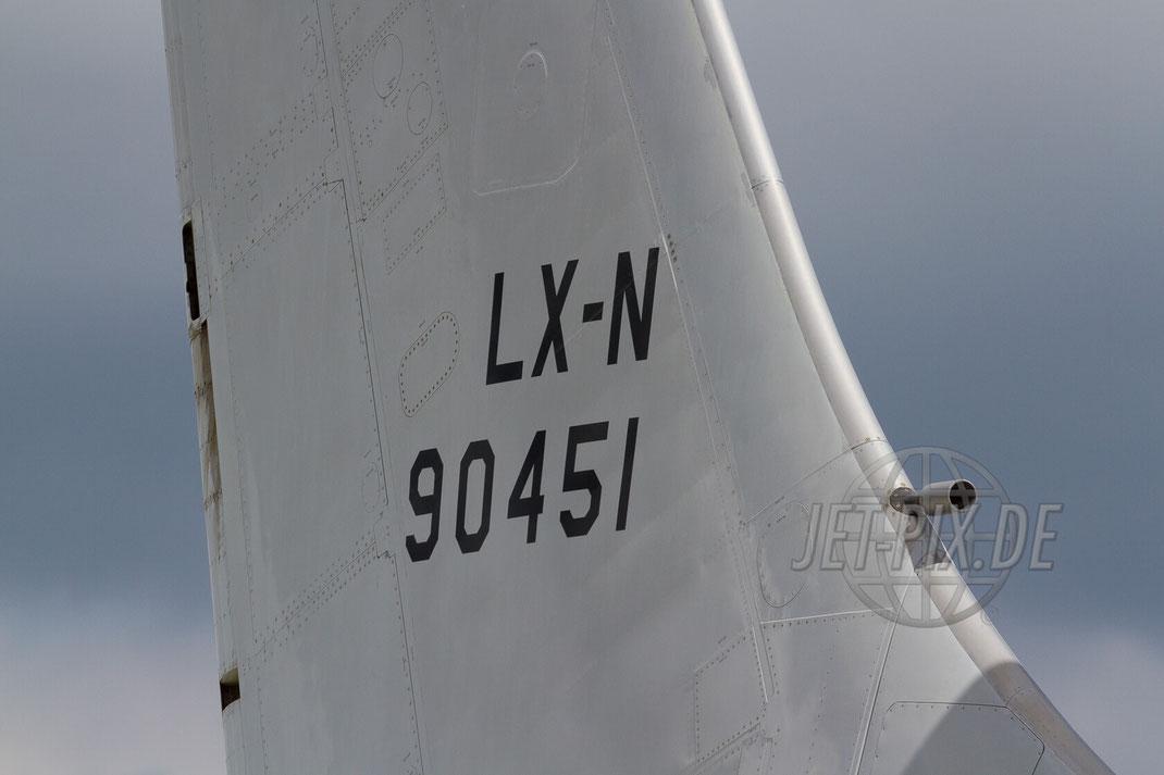 LX-N 90451 Heck 30 YEARS AWACS 2012.06.17 ETNG/GKE Geilenkirchen