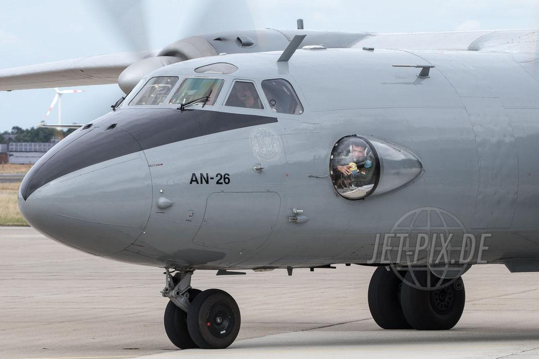 """406 Hungarian Air Force Antonov AN-26 2017 06 30 ETNG Geilenkirchen """"35 Years E-3A"""""""