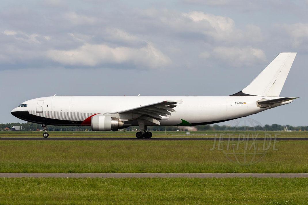 D-AEAM EAT Leipzig Airbus A300B4-622R(F) 2014 05 31 EHAM Amsterdam