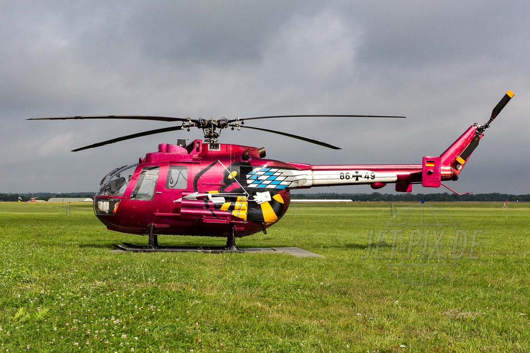 86+49 German Army Messerschmitt Bölkow-Blohm (MBB) Bo-105 2013 08 17 ETMN Nordholz