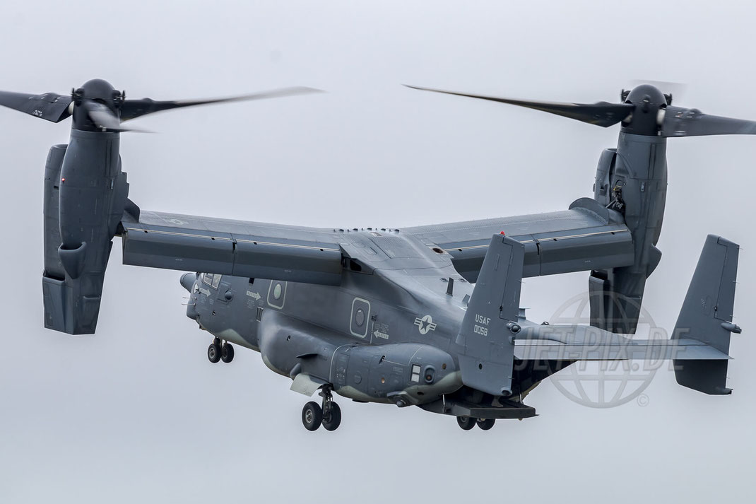 11-0058 Boeing CV-22B Osprey  USAF Royal International Air Tattoo (RIAT) 2017 07 15 Fairford (EGVA)