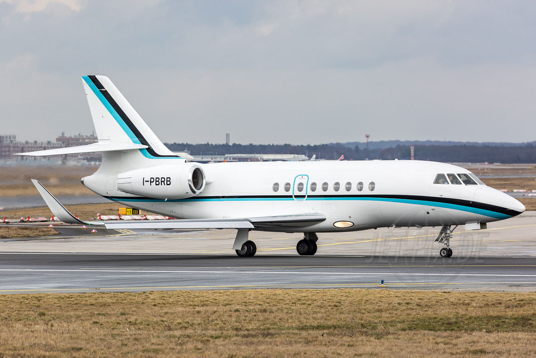 I-PBRB Private Dassault 2000EX 2018 03 12 EDDF Frankfurt