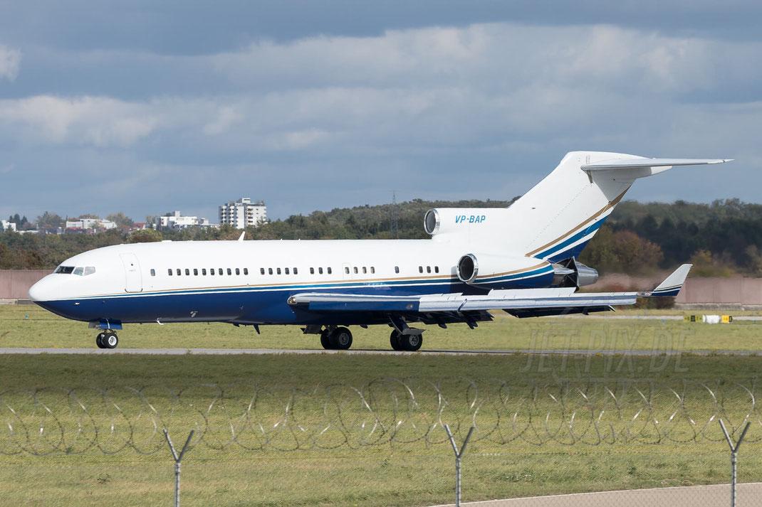 VP-BAP Malibu Consulting Boeing 727-021 2017 10 07 EDDS Stuttgart