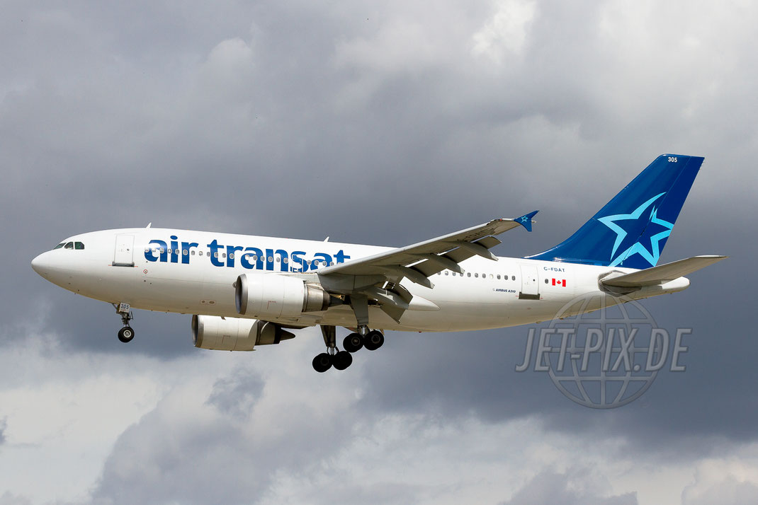C-FDAT Air Transat Airbus A310 2012 07 20 EDDF Frankfurt