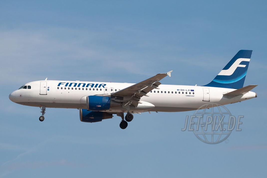 OH-LXI Finnair Airbus A320 2011 05 22 EDDF Frankfurt