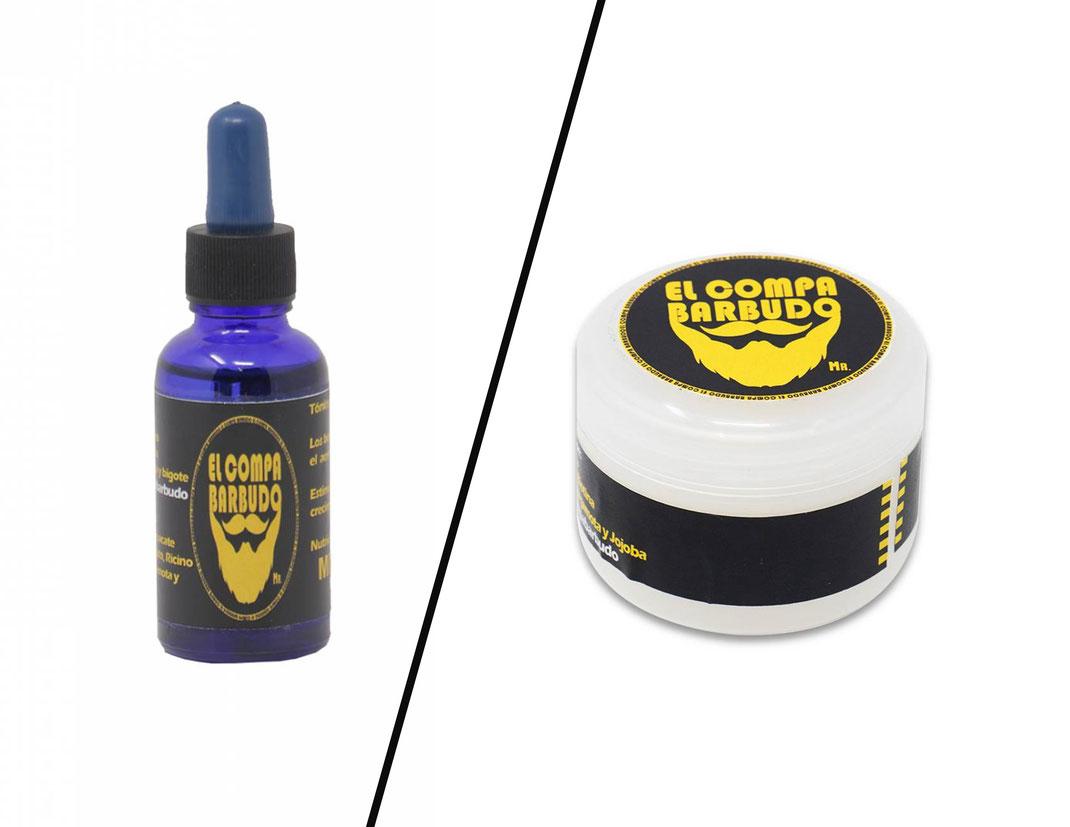 Diferencia entre Tónico Aceite y Bálsamo Crema para Crecimiento Barba