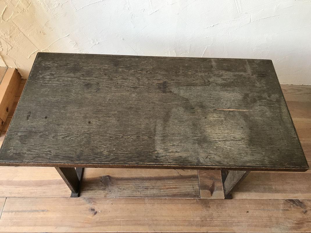 テーブル塗装修理前