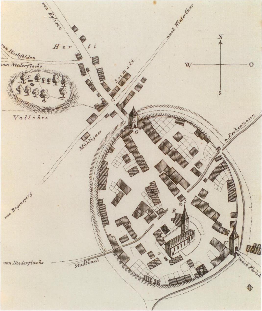 Bülach um 1826