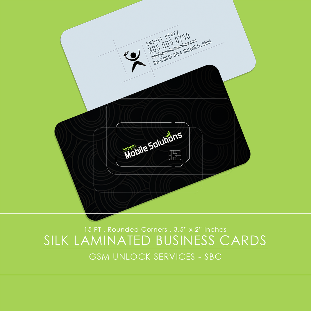 AG&L INC. - Business Services // Silk, Plastic, Transparent Business Cards