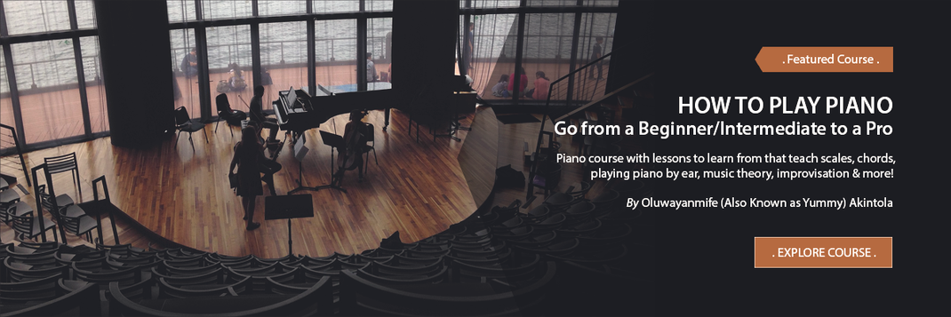 Online Music Courses - How To Play Piano, Go From  A Beginner/Intermediate To A Pro. Art God & Love Inc. Copyrights ©2017