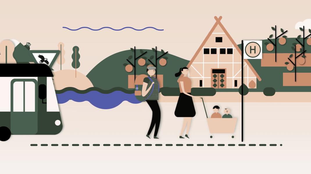 Erklärvideo, Illustration, Altes Land, Ausflug Hamburg