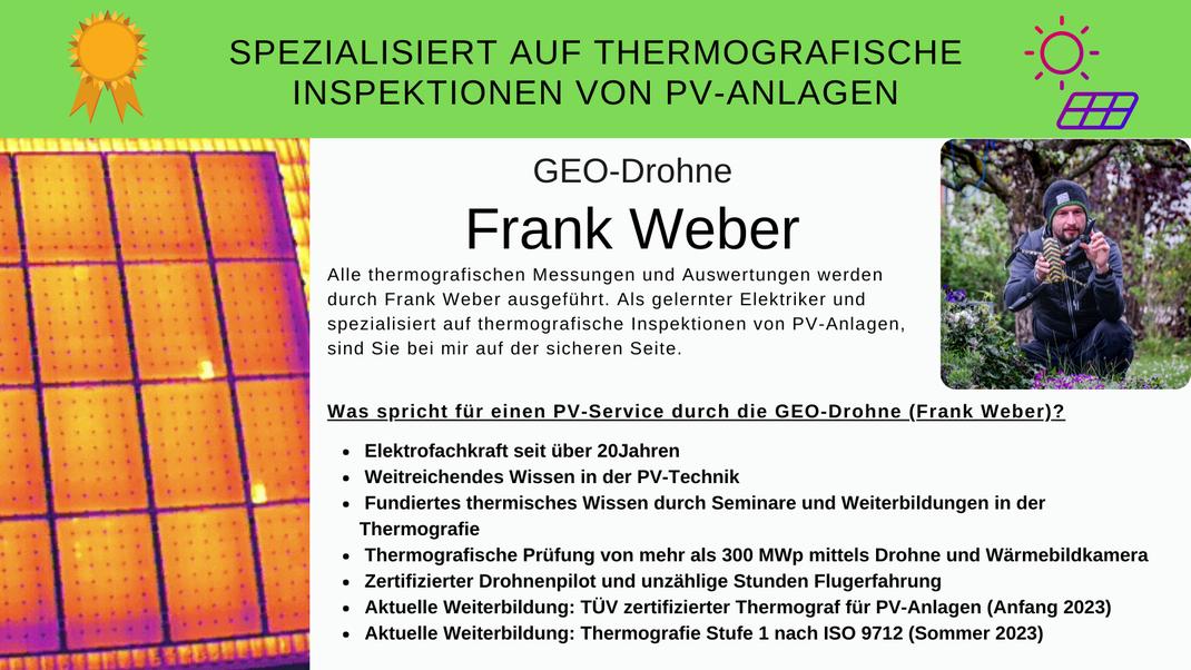 Thermografiesche Inspektion von PV-Anlagen mit der Drohne. PV Anlagen Wartung in  Georgensgmünd, Roth, Weißenburg, Gunzenhausen, Schwabach, Ansbach