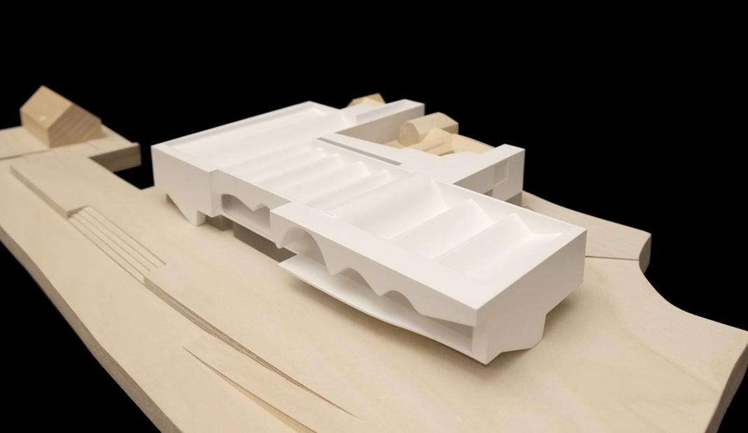 Museum der Bayerischen Geschichte 2013 Regensburg - Kohlmayer Oberst Architekten - Umfang: Montage Baukörper weiß + Finish