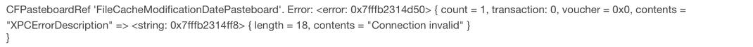 Fehler bzw. Unterbrechung von einem Kopierprozess, der Filestream ist abgebrochen und sind nur noch Dateifragmente im Arbeitsspeicher.