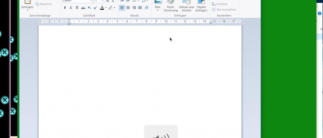 Memz Desktop überlagert sich (Auf einer Windows 10 Virtual Machine)