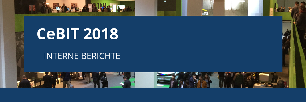 CEBIT 2018 IN HANNOVER