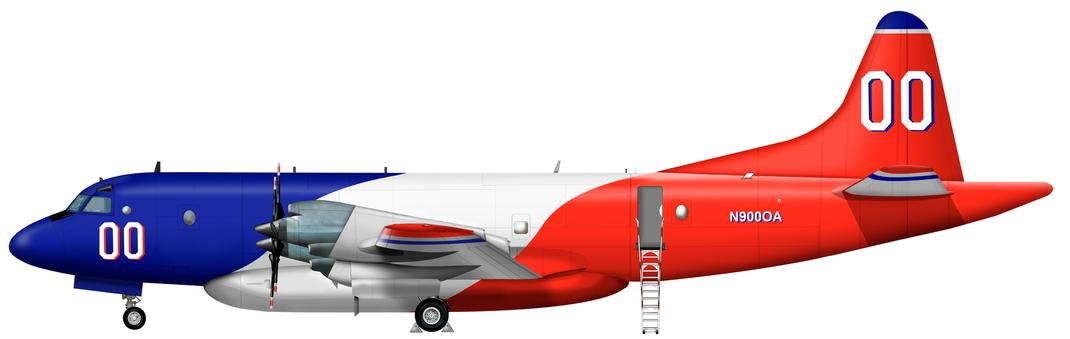 Lockheed P-3A Orion Firebomber
