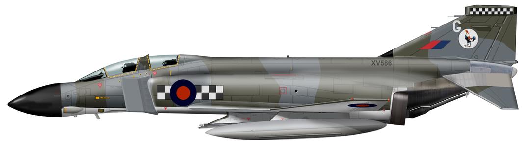 McDonell Douglas F-4M Phantom 2